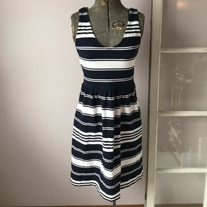J. Crew Striped Villa Dress